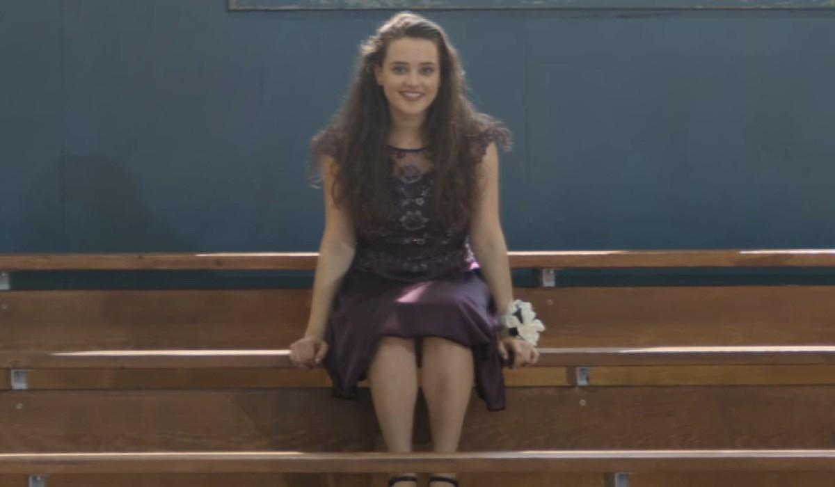 Katherine Langford nei panni di Hannah Baker in Tredici 4x10 Credits David Moir e Netflix © 2020