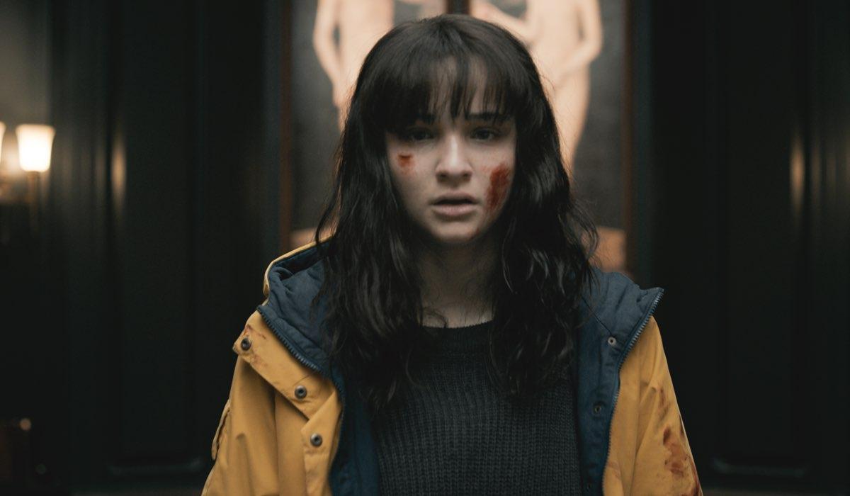 Lisa Vicari nella parte di Martha nella terza stagione di Dark. Credits Netflix
