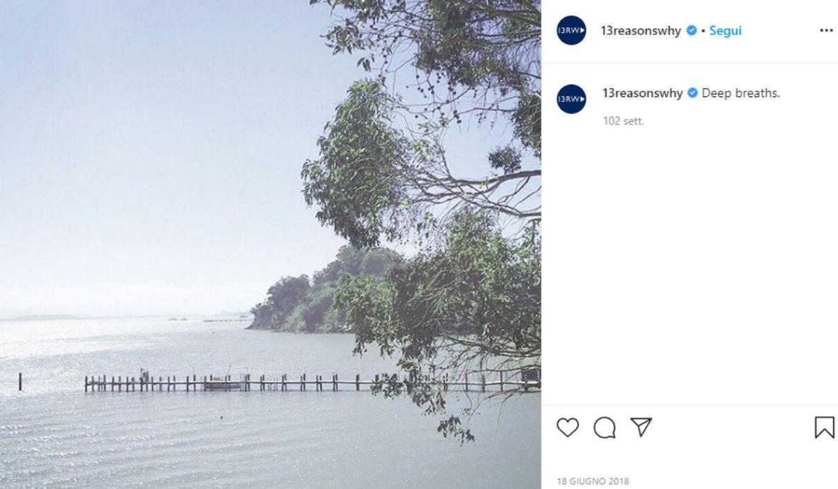 Location di Tredici condivisa dall'account Instagram ufficiale 13reasonsWhy