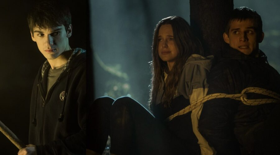 Luca Castellano Juju Di Domenico e Giulio Brizzi in Curon Credits Loris T Zambelli Netflix