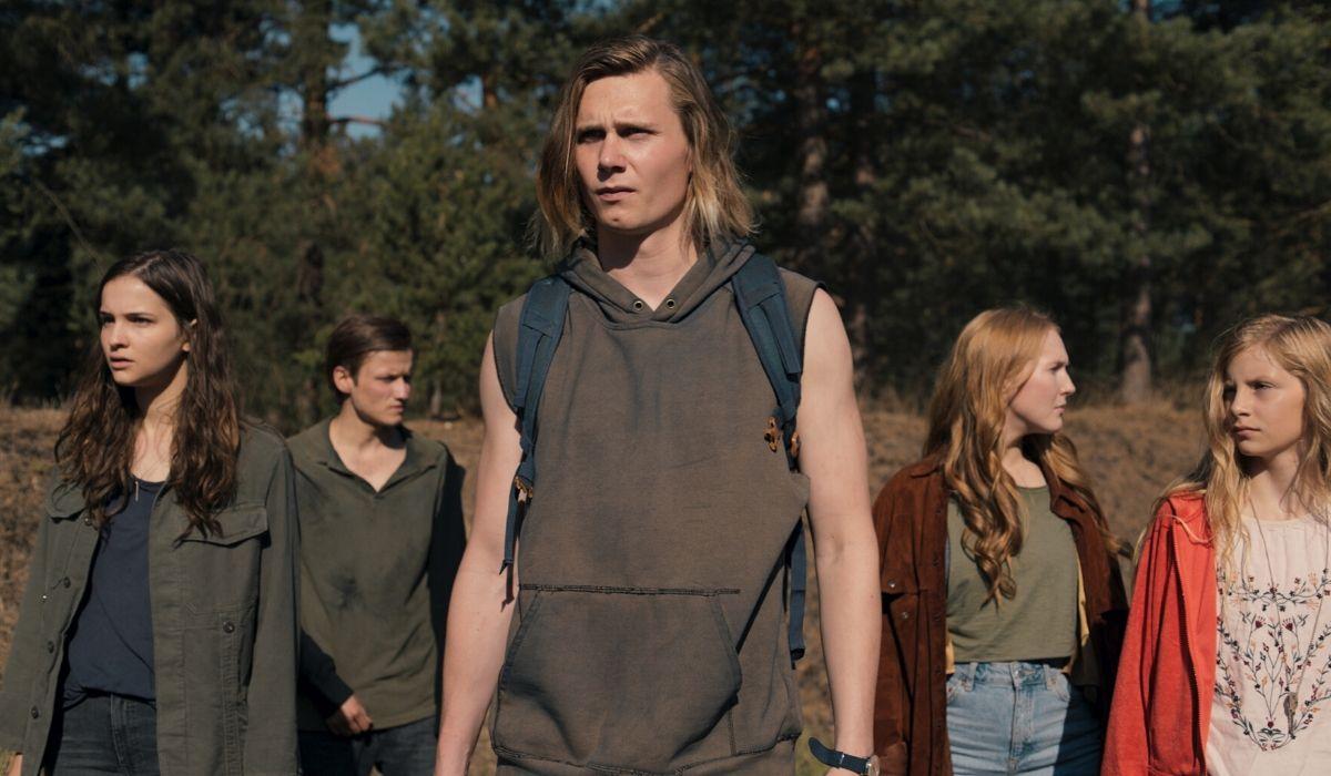 Magnus, Martha, Franziska, Bartosz ed Elizabeth in Dark 2 stagione Credits Netflix