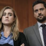 Melissa Roxburgh è Michaela Stone, J.r. Ramirez è Jared Vasquez in Manifest 2. Foto di © Warner Bros. Entertainment, Inc