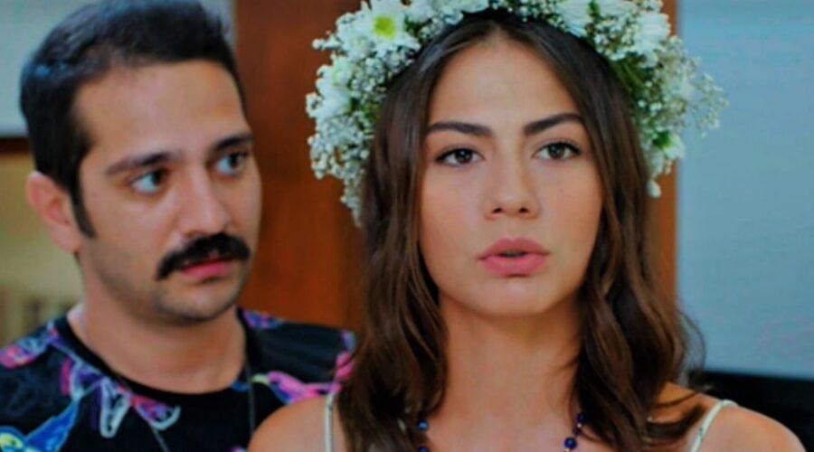 Sanem e Cey Cey in Daydreamer soap turca Credits Mediaset