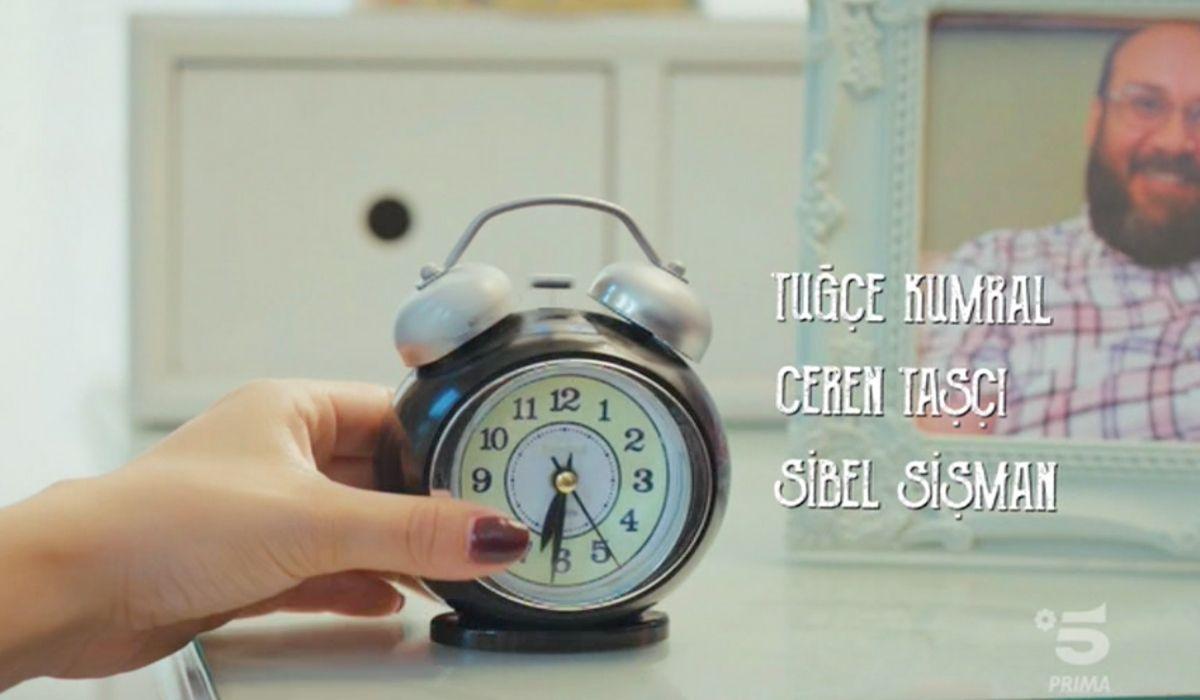 Sanem si sveglia nella sigla di Daydreamer Credits Mediaset