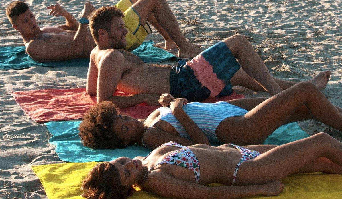 Summertime Dario, Ale, Summer e Sofia Credits Netflix