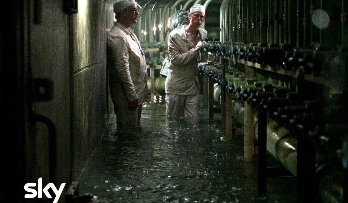 Una scena della serie Chernobyl Credits Sky e HBO