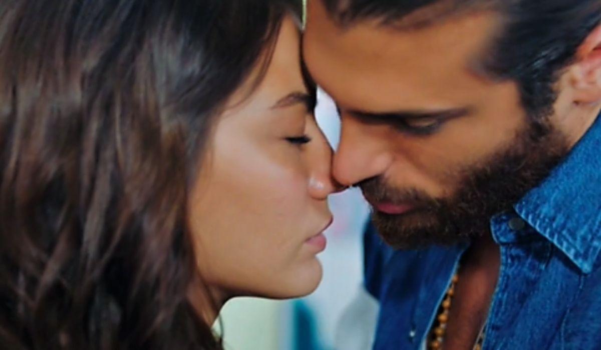 Can sta per baciare Sanem nella puntata 33 di Daydreamer- Le ali del sogno Credits Mediaset