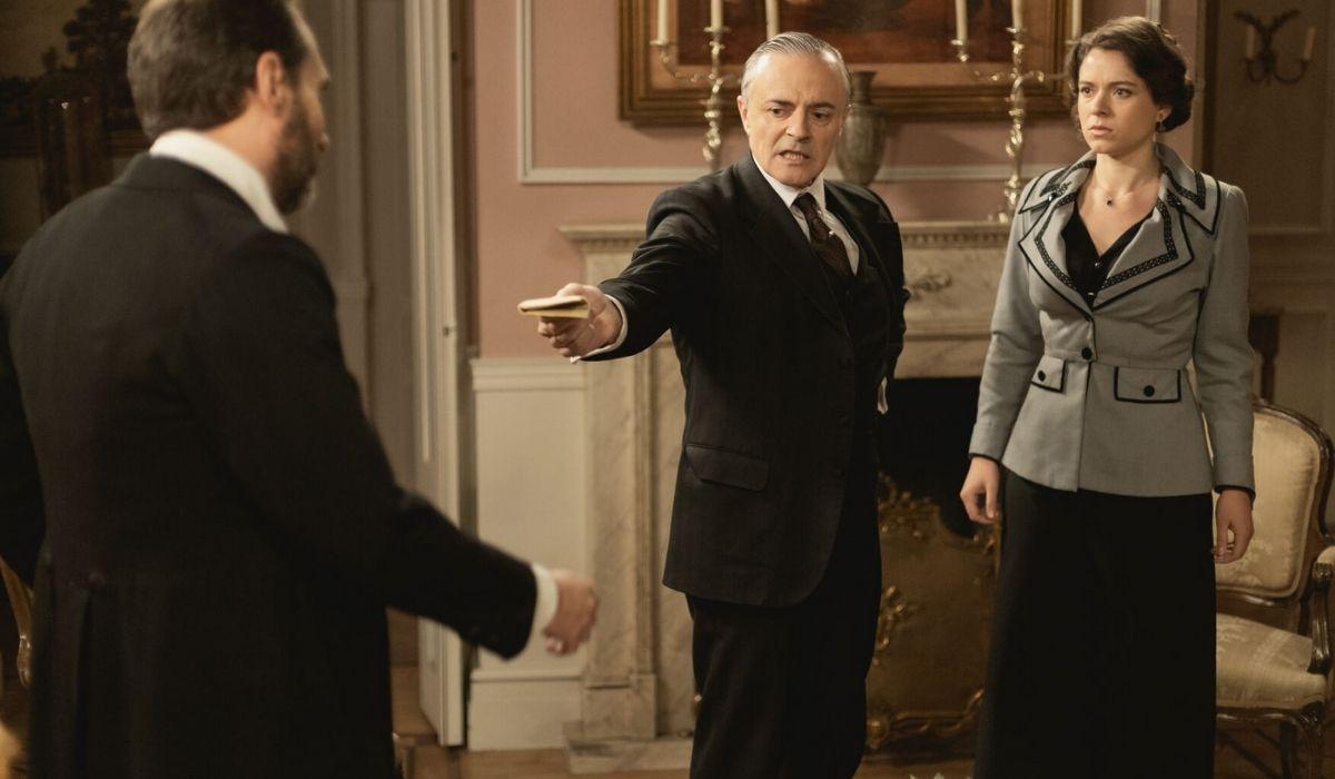 Cristobal, Alfredo e Genoveva in Una Vita Credits BOOMERANG TV e Mediaset
