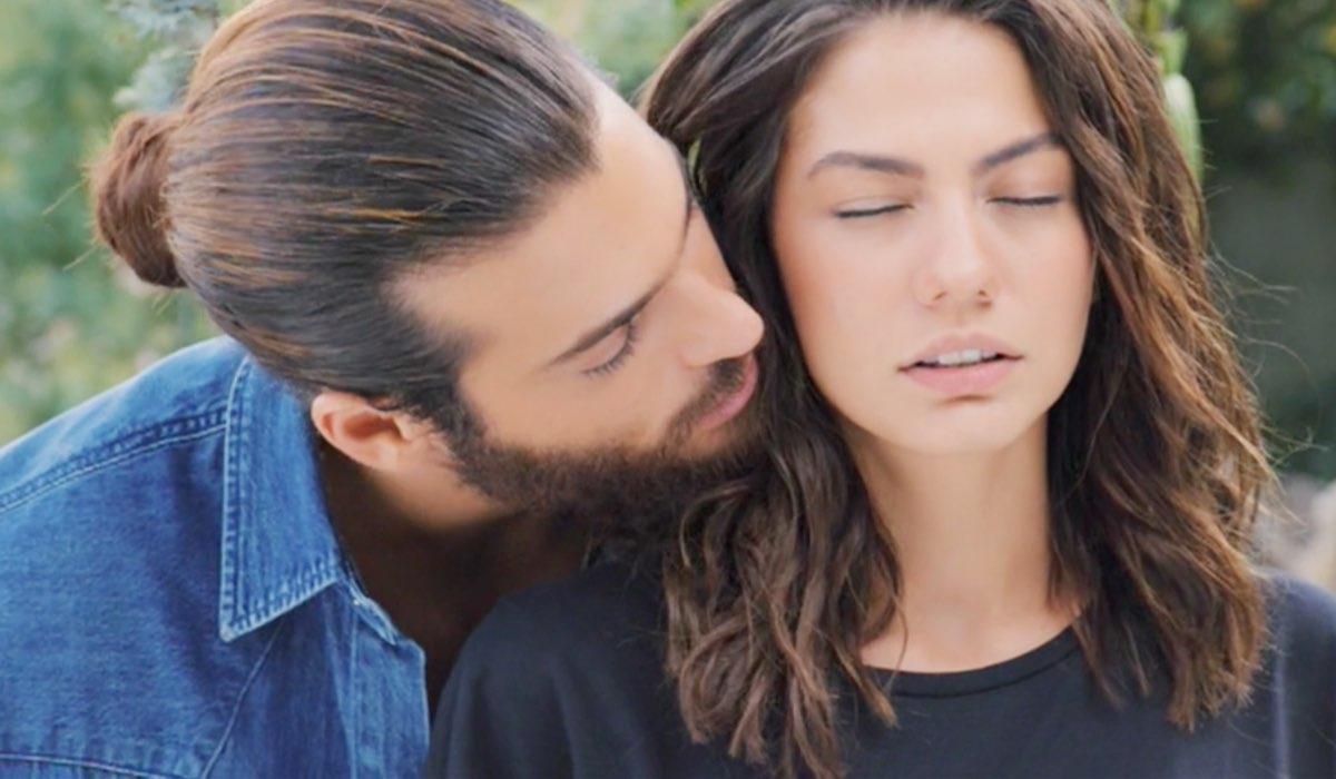 Daydreamer Can Yaman e Demet Özdemir interpretano Can e Sanem, qui nella puntata 34 poco prima che lui si dichiari Credits Mediaset