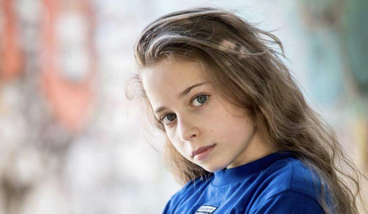 Giulia Patrignani interpreta Cecilia ne La luce dei tuoi occhi, qui in un posato Credits Ph. Sonia Ursini Photographer