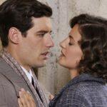 Il Paradiso delle Signore 4 Riccardo e Nicoletta interpretati da Enrico Oetiker e Federica Girardello in una scena della stagione Daily 2 Credits RAI