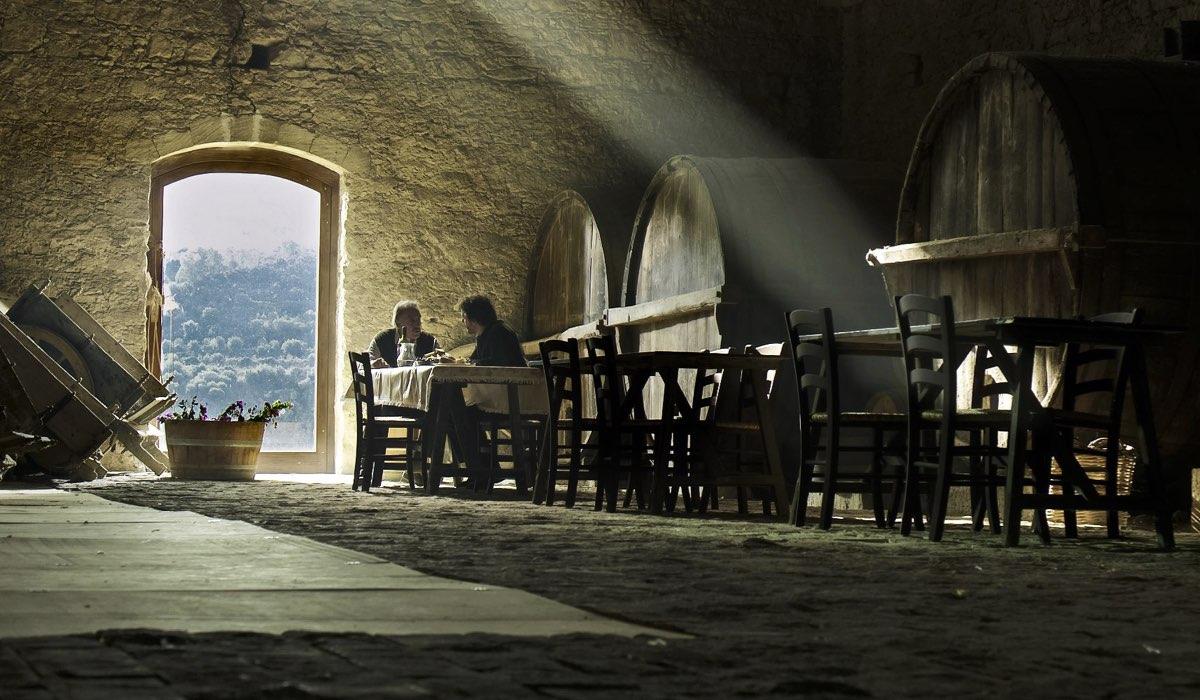 Il giovane Montalbano 2 stagione, qui la scena con uno scorcio della location foto Credits Palomar e RAI