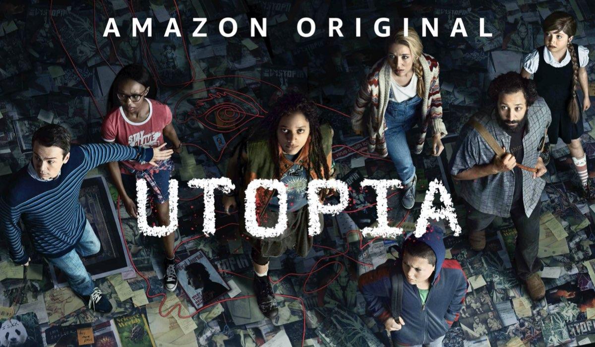 Immagine promozionale della serie tv Utopia. Credits: Amazon Prime Video