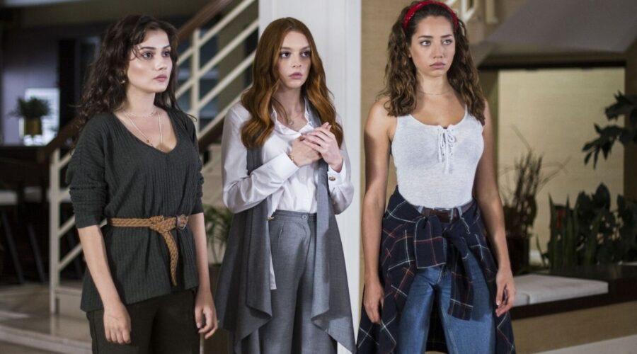 Ipek, Deren e Azra nella soap Come sorelle Credits Eccho Rights e Mediaset