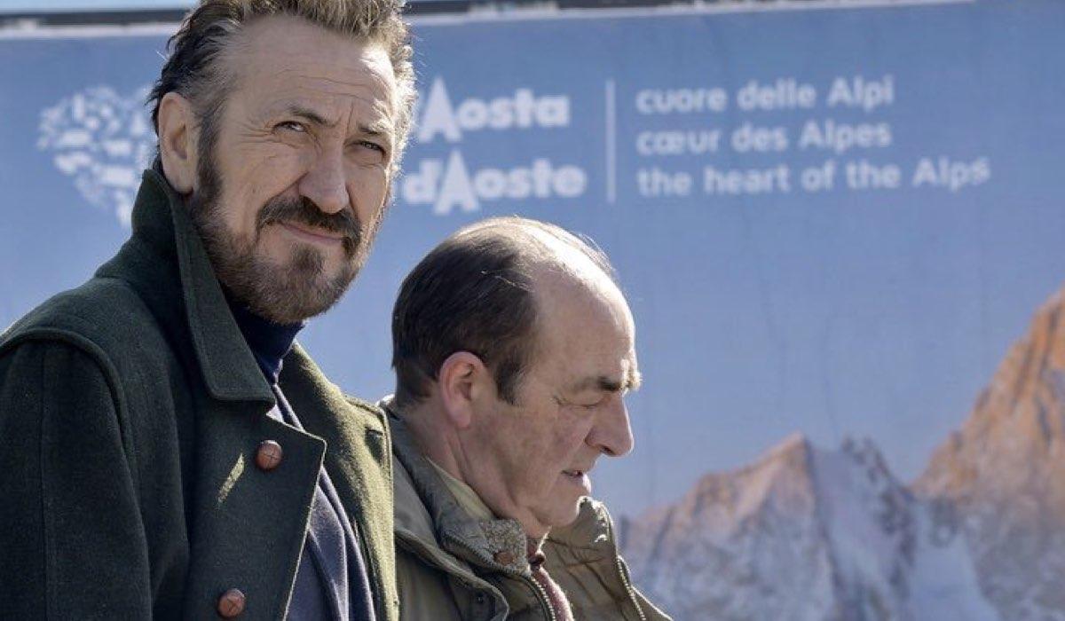 Marco Giallini e Gino Nardella nella fiction Rocco Schiavone Credits RAI