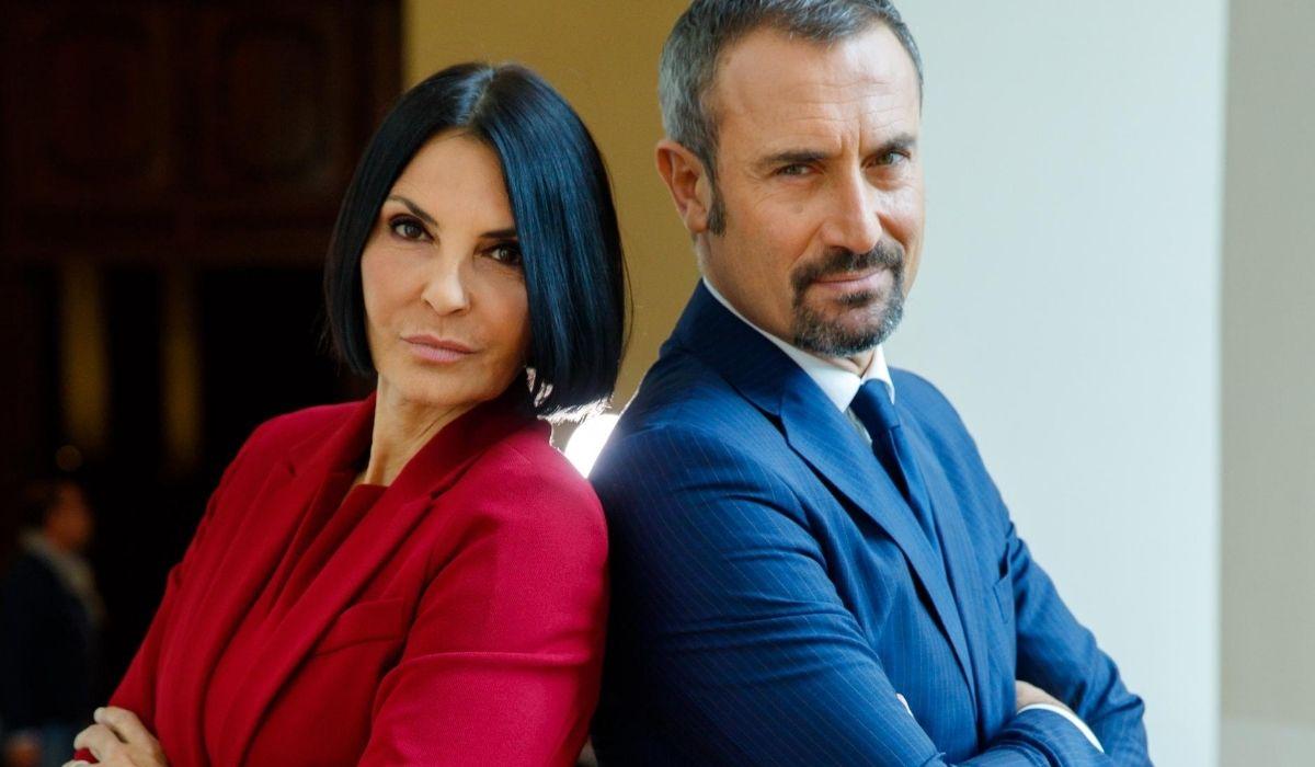 Marina e Fabrizio in Un posto al sole Credits RAI