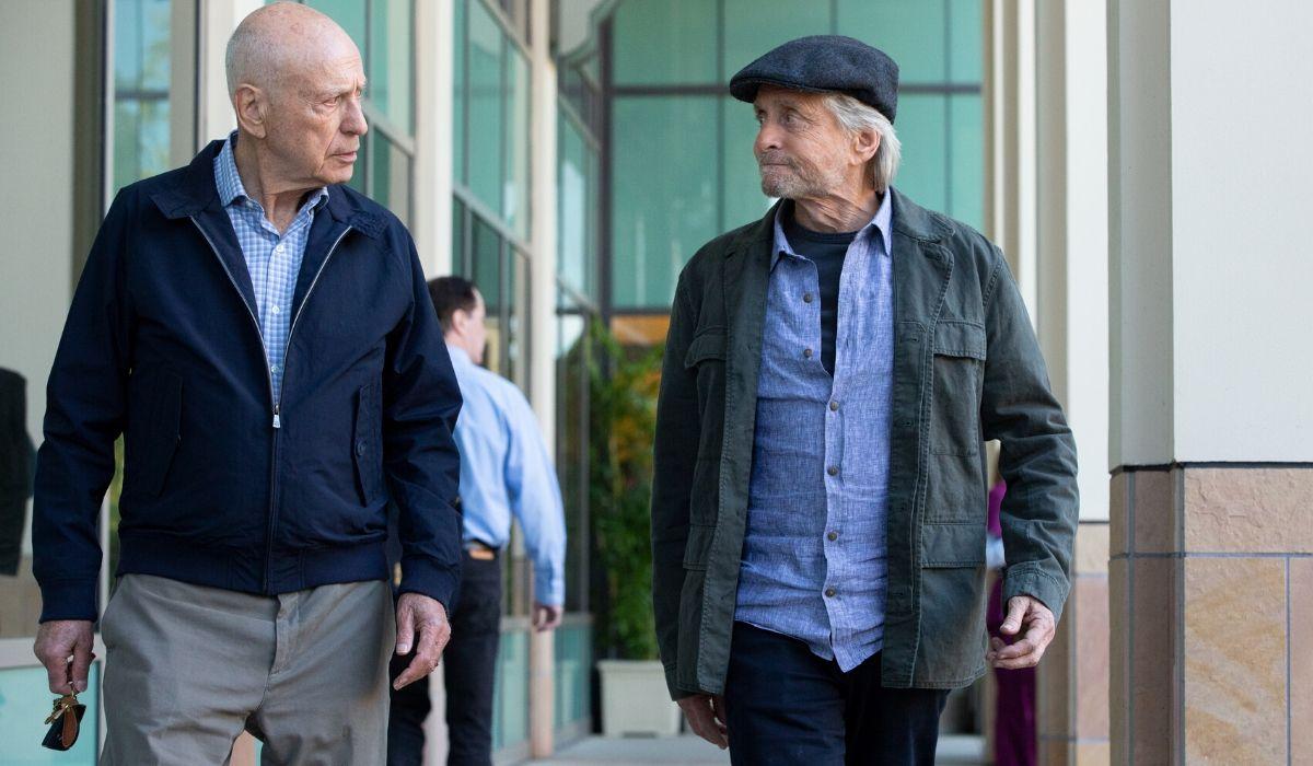 Michael Douglas e Alan Arkin ne Il metodo Kominsky, Credits Michael Yarish e Netflix