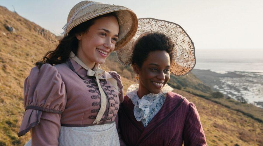 Rose Williams e Crystal Clarke in Sanditon serie tv, Credits laF