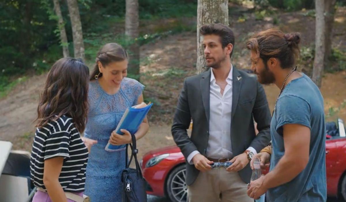 Sanem, Leyla, Emre e Can in Daydreamer puntata 28 Credits Mediaset