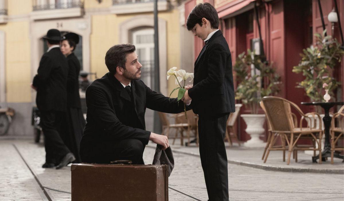 Telmo e Meteo in Una Vita Credits Boomerang tv e Mediaset