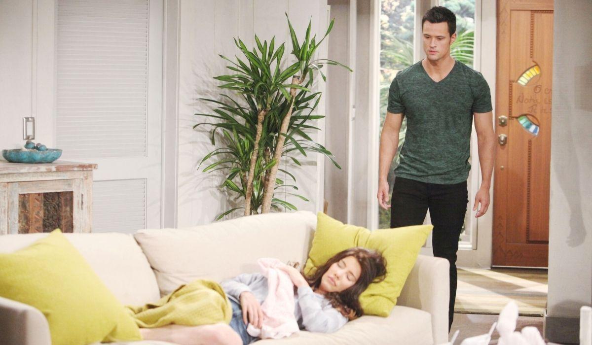 Thomas e Steffy in Beautiful soap opera Credits BBL DISTRIBUTION e Mediaset