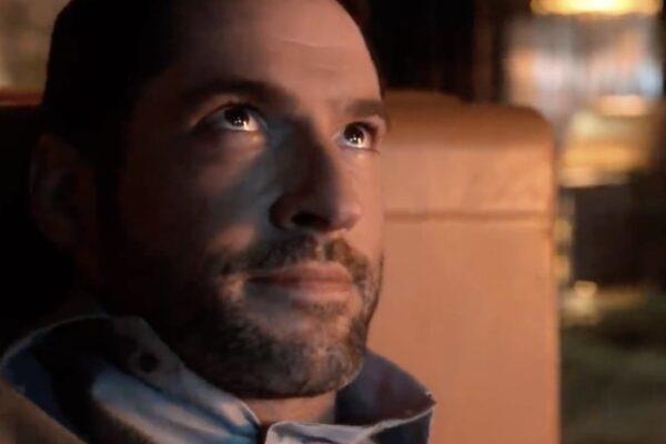 Tom Ellis nei panni di Michael nel trailer di Lucifer 5 Credits Netflix