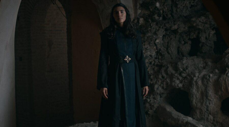 Warrior Nun: Lorena Andrea nel ruolo della sorella Lilith nell'episodio 9 di Warrior Nun. Cr. Per gentile concessione di Netflix/Netflix © 2020