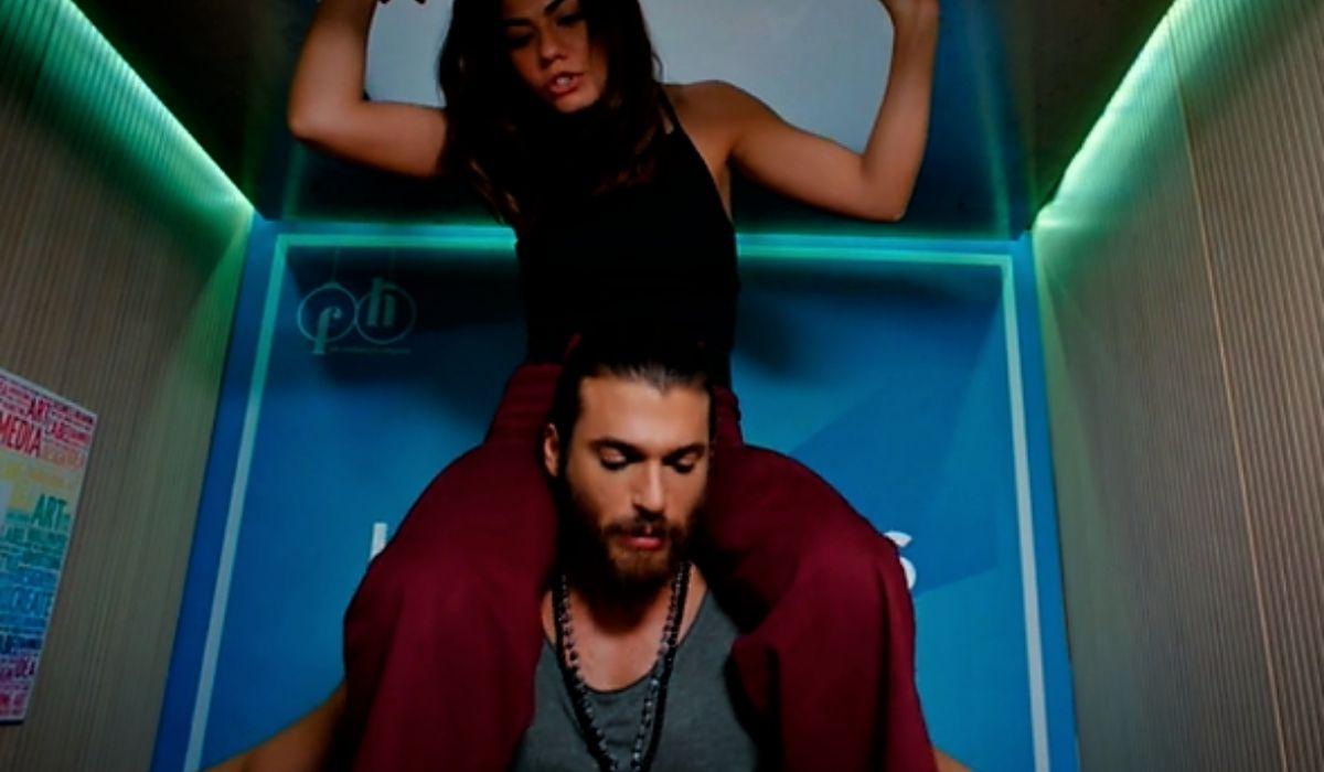 Can e Sanem bloccati nell'ascensore in Daydreamer puntata 57 Credits Mediaset