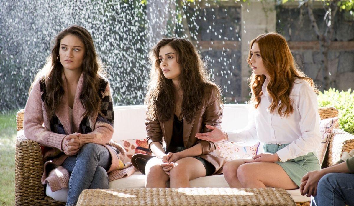 Cilen, Ipek e Deren in Come Sorelle soap turca Credits 2020 Eccho rights.