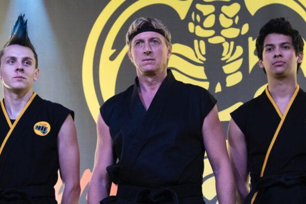 Cobra Kai 2, una scena della stagione Credits Guy D'Alema e Netflix