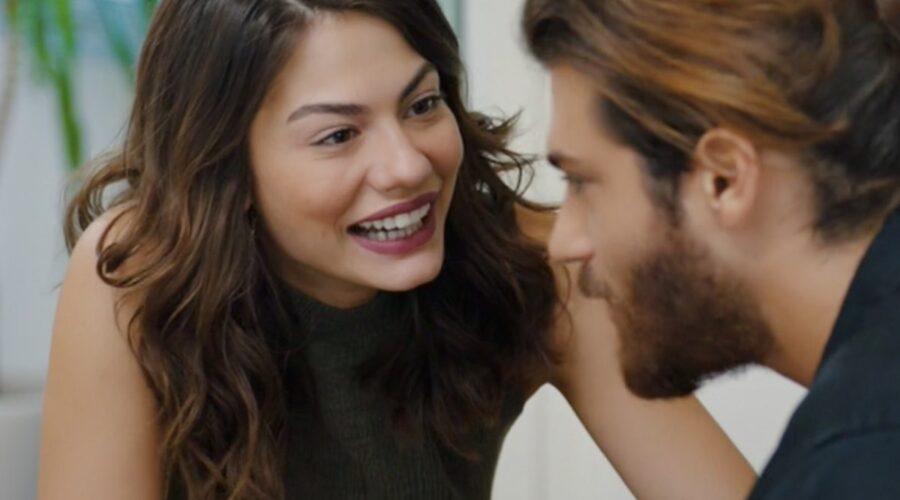 Daydreamer Can e Sanem nella puntata 43 Credits Mediaset