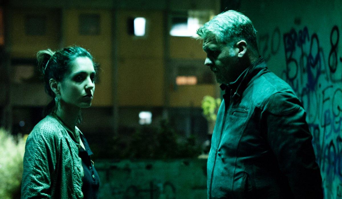 Gomorra 2 stagione con Cristiana Dell'Anna che interpreta Patrizia foto Credits Emanuela Scarpa e SKY
