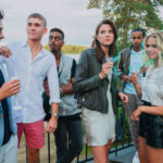Hanna Ardehn, Ella Rappich e Felix Sandman in Quicksand prima stagione, Credits Johan Paulin e Netflix