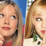 Hilary Duff nei panni di Lizzie McGuire e Miley Cyrus nei panni di Hannah Montana Credits Disney Channel
