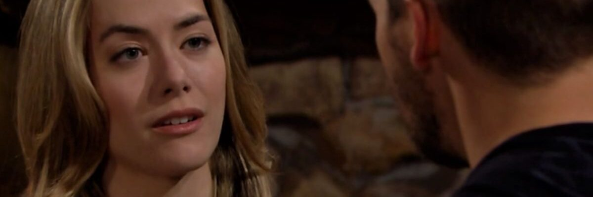Hope piange in Beautiful Credits Mediaset