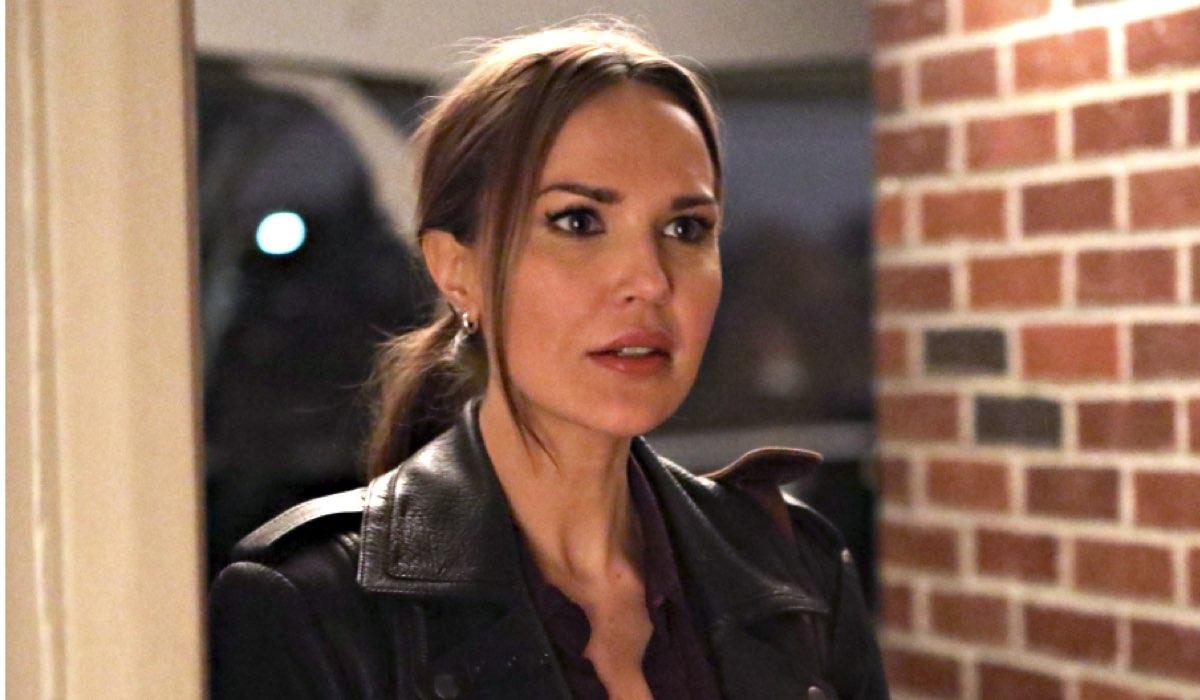 Lincoln Rhyme - Caccia al collezionista di ossa, qui ARIELLE KEBBEL che interpreta AMELIA SACHS nell'episodio 6 Credits Mediaset