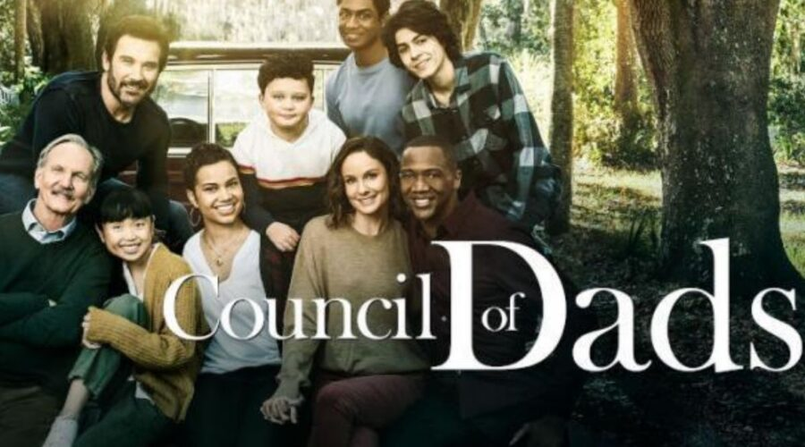 Locandina ufficiale di Council of Dads, Credits NBC e Mediaset