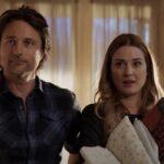 Martin Henderson e Alexandra Breckenridge in un fotogramma del trailer di Virgin River.Credits: Netflix/YouTube