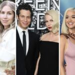 Raven Symoné e Miranda Maday via @mirandamaday, Thomas Kail e Michelle Williams foto di Kevin Mazur e Getty Images per Turner, Katy Perry e Orlando Bloom foto di Phillip Faraone e Getty Images