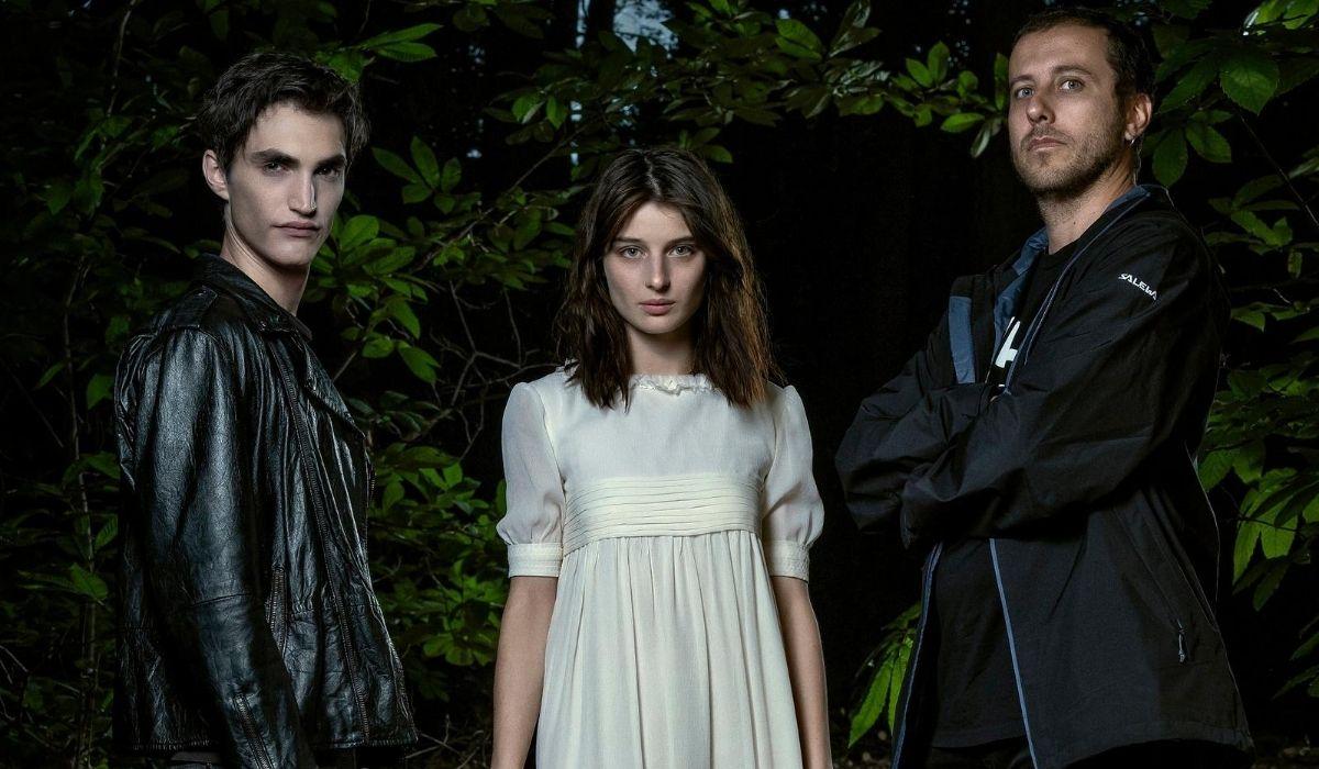 Rocco Fasano, Alice Pagani e Andrea De Sica in Non mi uccidere, Credits Riccardo Ghilardi e Warner Bros.