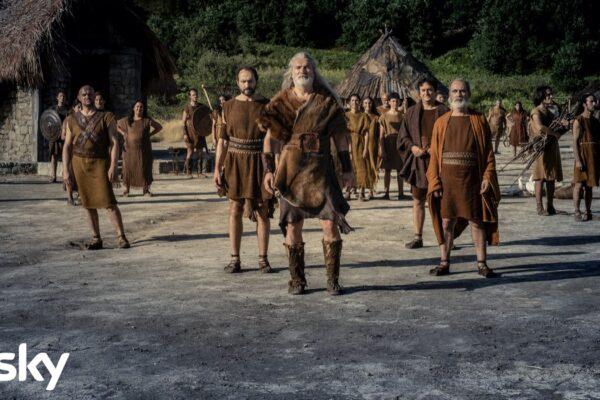 Una scena dell'episodio 3 della serie tv Romulus Credits Francesca Fago e SKY