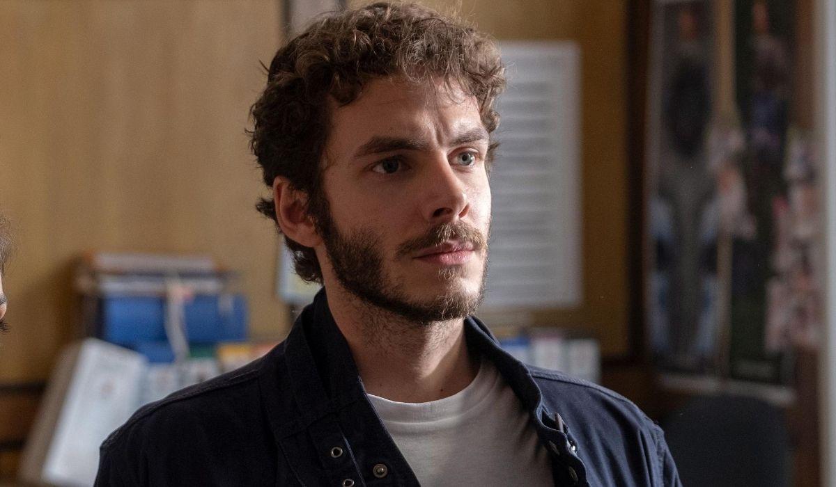 Alessandro Sperduti in una scena di Nero a metà 2 stagione nei panni di Marco Credits RAI