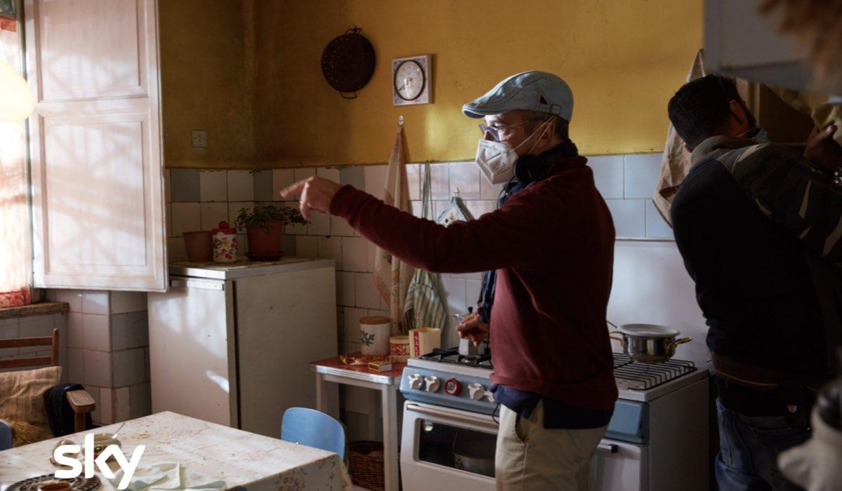 Alfredino - Una storia italiana, il regista Marco Pontecorvo sul set Credits Lucia Iuorio e SKY