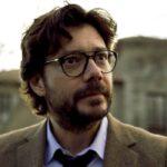 Alvaro Morte nei panni del Professore ne La Casa di Carta episodio 3x05 credits Netflix
