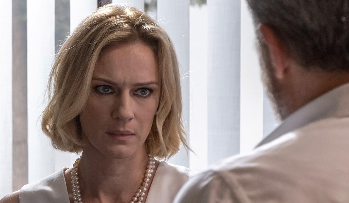 Antonia Liskova in una scena di Nero a metà 2 stagione nei panni di Micaela Carta Credits Claudio Iannone e RAI