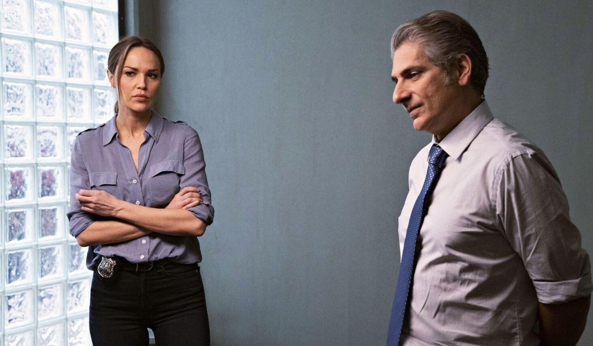 Arielle Kebbel e Michael Imperioli sono Amelia e detective Michael in Lincoln Rhyme, Credits Mediaset