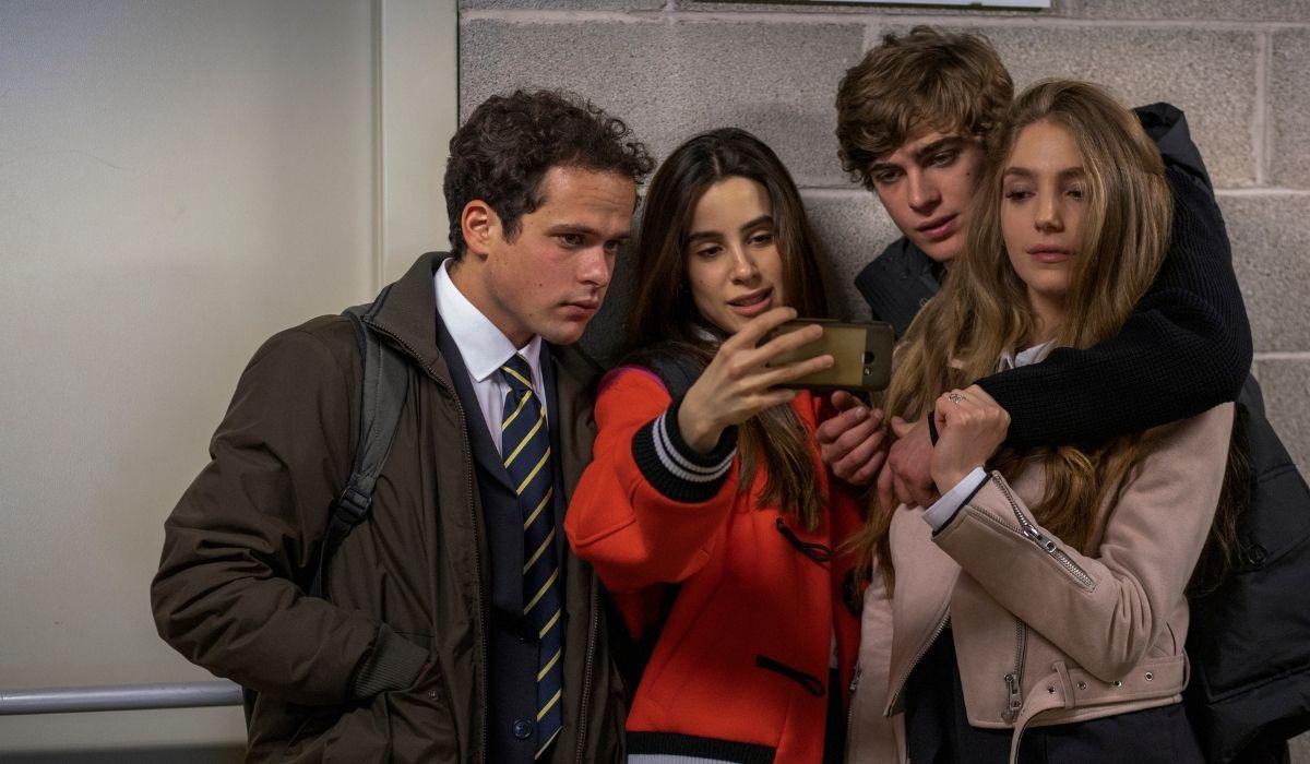 Brando Pacitto, Chabeli Sastre, Lorenzo Zurzolo in Baby 2 Credits Francesco Berardinelli e Netflix