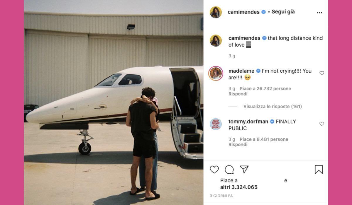 Camila Mendes Grayson Vaughan via Instagram @camimendes