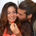 Can e Sanem in Daydreamer soap opera Credits GLOBAL TELIF HAKLARI YAPIMCILIK TIC. A.S.