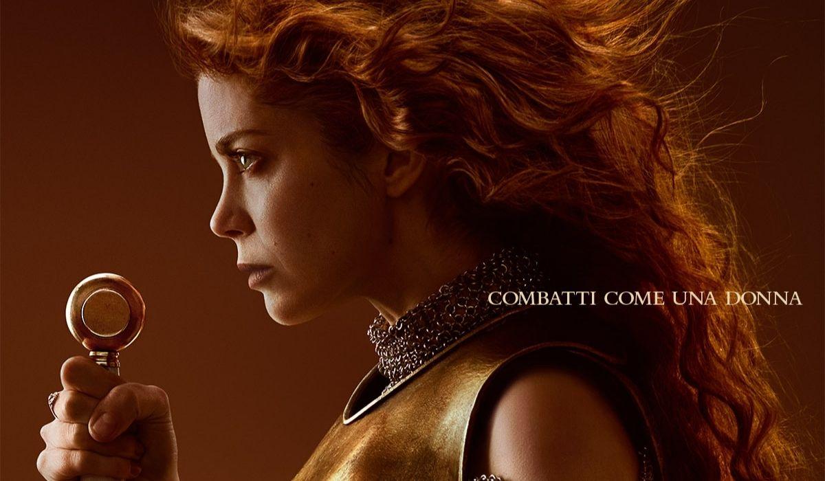 Caterina D'Aragona nel poster ufficiale di The Spanish Princess 2, Credits Starzplay